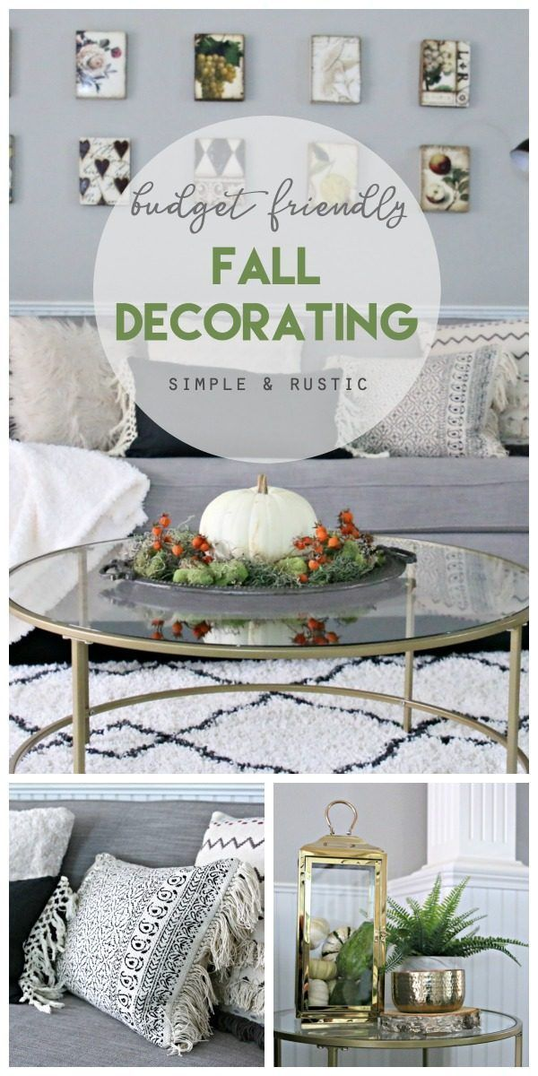 Simple Fall Decorating Ideas images