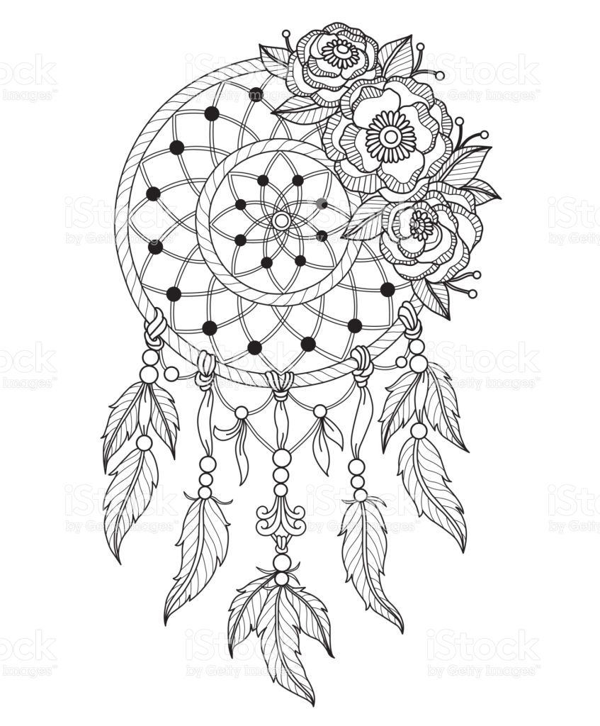 Pin Von Ilona Slunickova Novakova Auf Omalovanky Antistresove Traumfanger Kunst Traumfanger Tattoo Design Blumenmalvorlagen