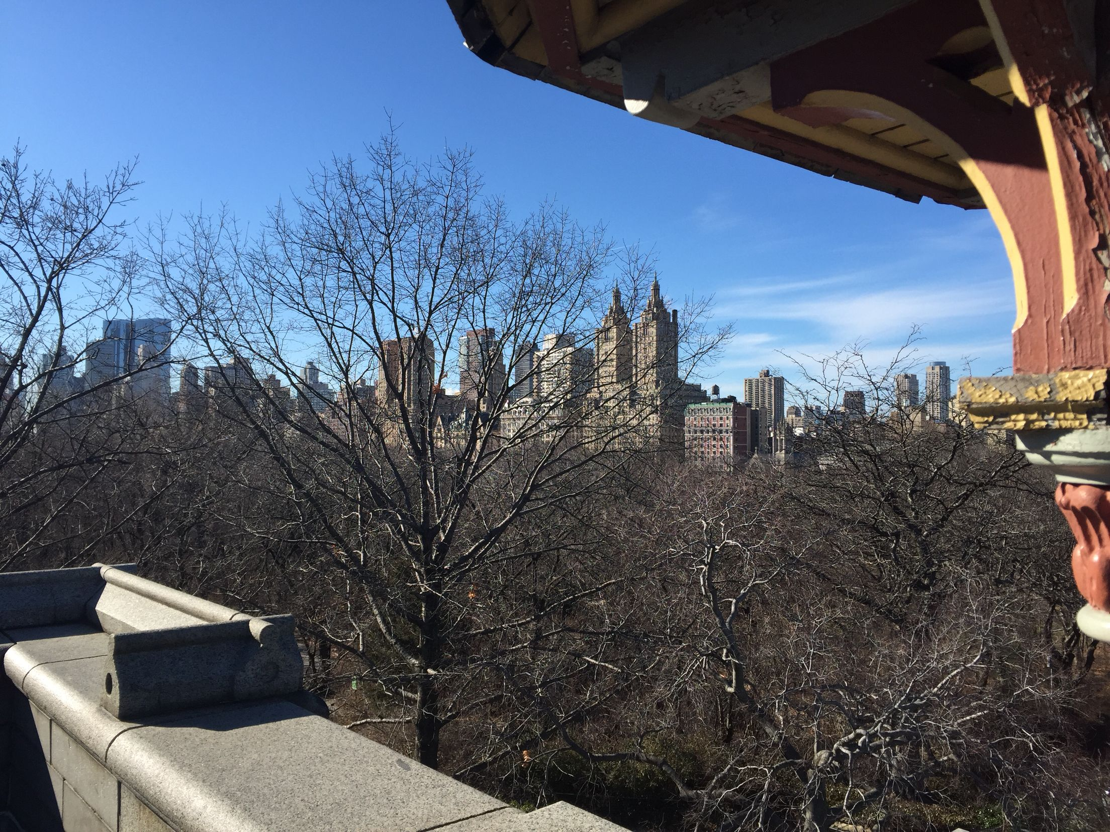 View from Belvedere Tower- Central Park
