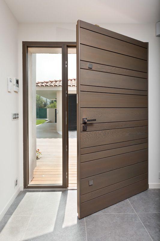 Porte du0027entrée Red Cedar Nativ 3 by Zilten, face intérieure - couleur des portes interieur