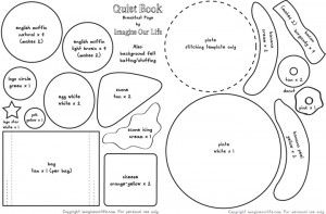 Japanese Craft Pattern Book Felt Food Cake Sweet Bread
