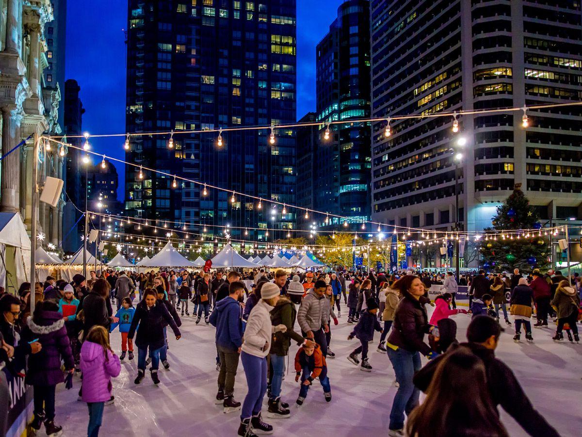 City Hall — Visit Philadelphia Outdoor ice skating
