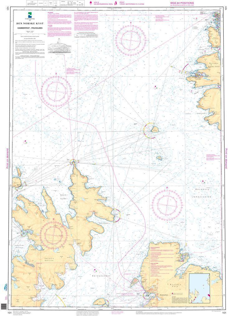 NHS Chart 101: Hammerfest - Fruholmen