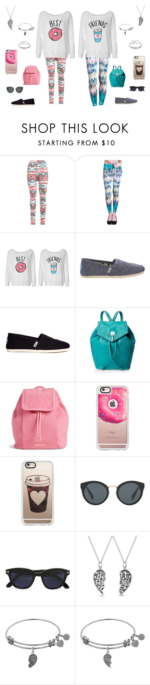 """""""Untitled #165"""" by b-bryant1816 on Polyvore featuring Nikibiki, TOMS, Danielle Nicole, Vera Bradley, Casetify, Prada, Tom Ford and Bling Jewelry"""