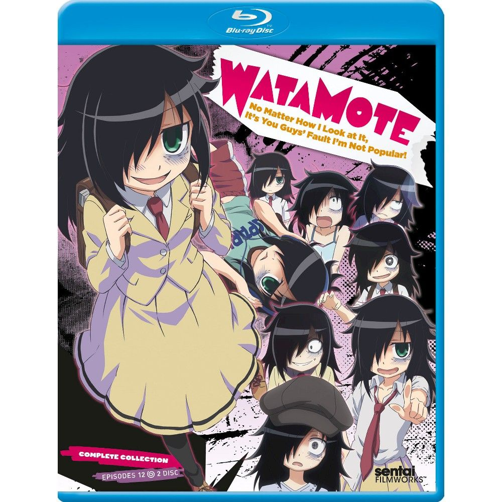 WataMote: Complete Collection [2 Discs] [Blu-ray]