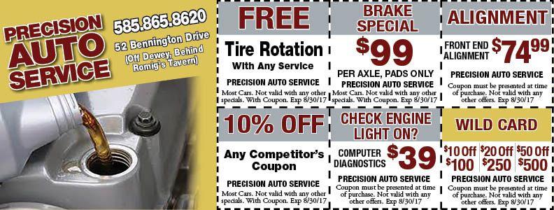 PRECISION AUTO SERVICE Auto service, Auto, Repair and
