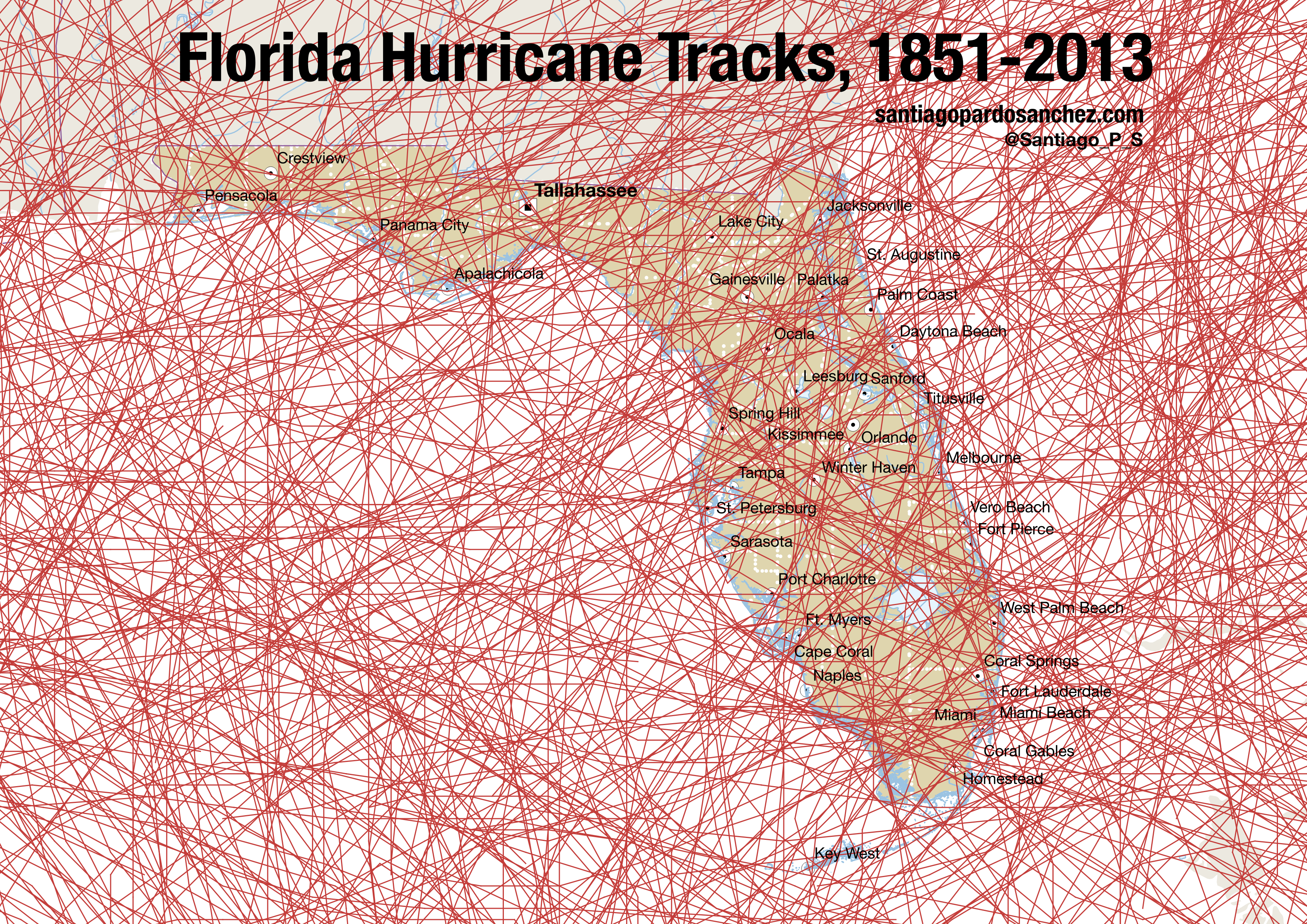 Now That It S Hurricane Season Here S A Really Unhelpful Florida Map Map Of Florida Hurricane Season Florida Hurricane
