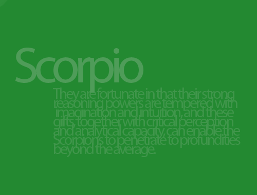 Scorpio occult powers | Scorpio And The Occult