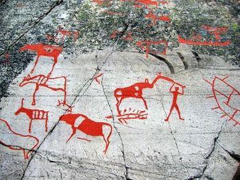 Photo of alta rock carvings norway rock carvings of alta in