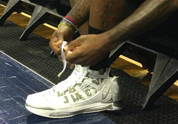 dfdde8c49d325 LeBron James Brings Out The Nike Zoom LeBron 3 For Game 3 Practice ...