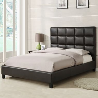 Ricci Upholstered Headboard Bed Jcpenney King Upholstered Bed Leather King Beds