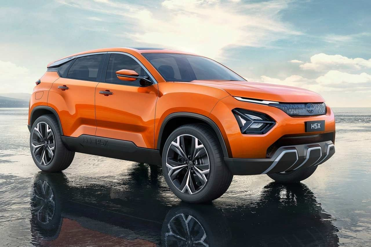 Tata Harrier Is The Official Name Of The Tata H5x Concept Suv