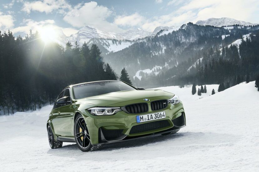 Exclusive Photos Bmw M3 Competition Package In Urban Green Color In 2020 Bmw Bmw M3 Car