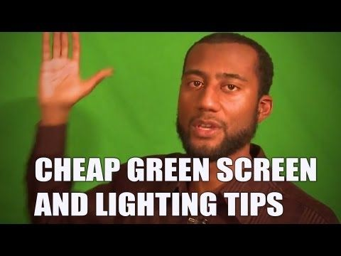 The Best Cheap Video Lights and Green Screen Tips
