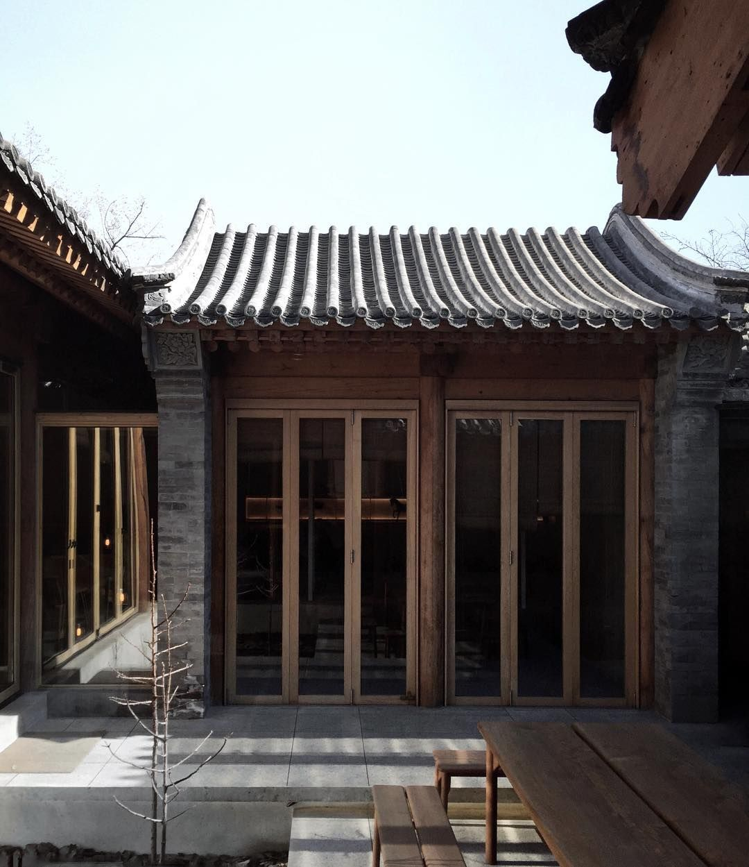 Pin by zhang qian on pinterest beijing instagood for Townhouse architectural styles