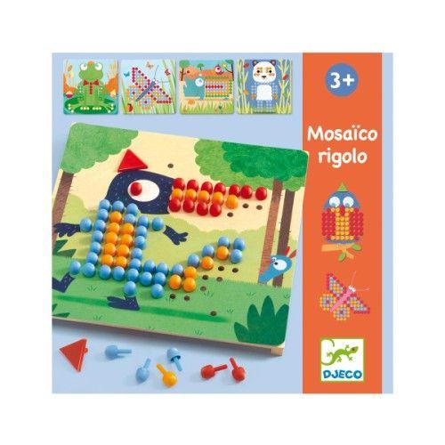 jeu ducatif mosa co rigolo djeco pour enfant de 3 ans 6 ans oxybul veil et jeux capucine. Black Bedroom Furniture Sets. Home Design Ideas