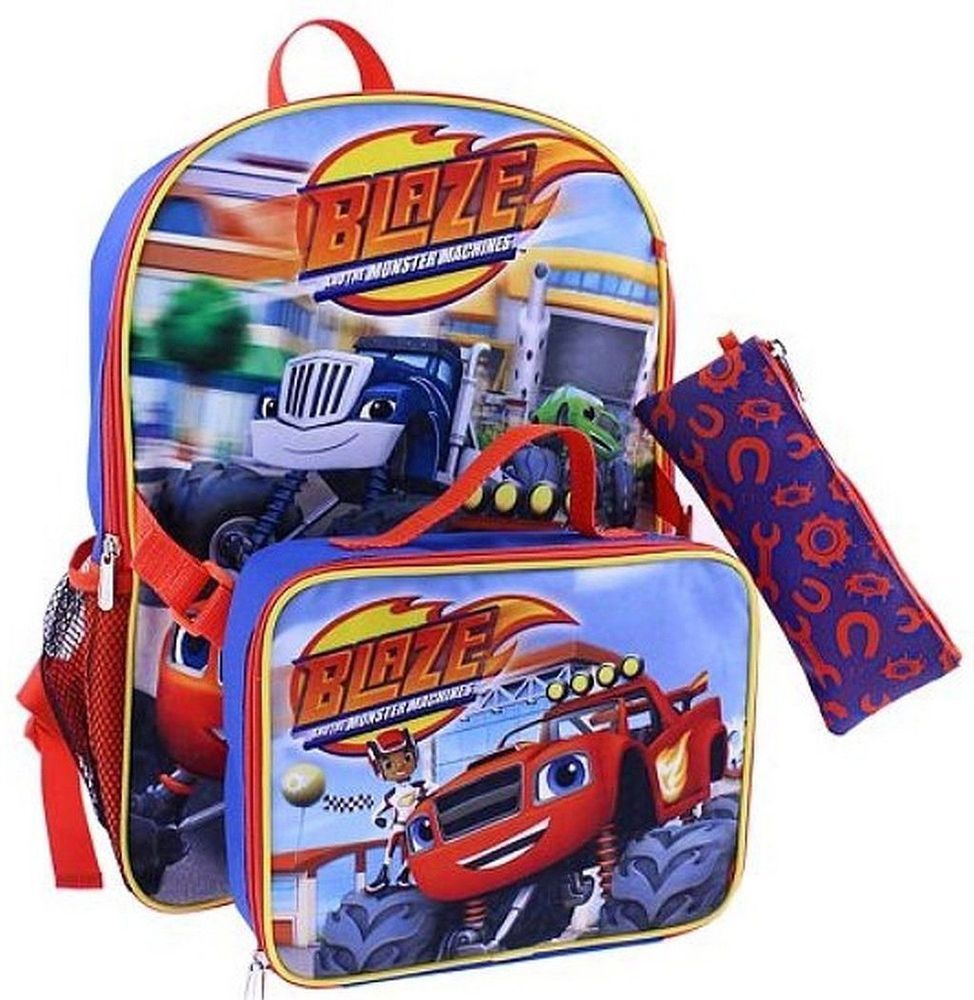 Blaze And The Monster Boys Backpack Detachable