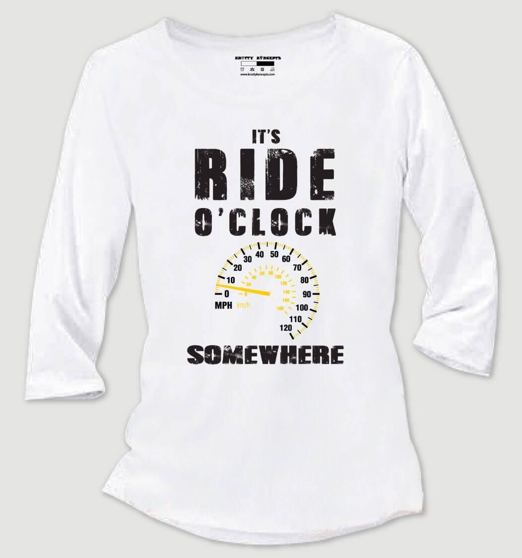 Ride O'clock TShirt (With images) Men's collection