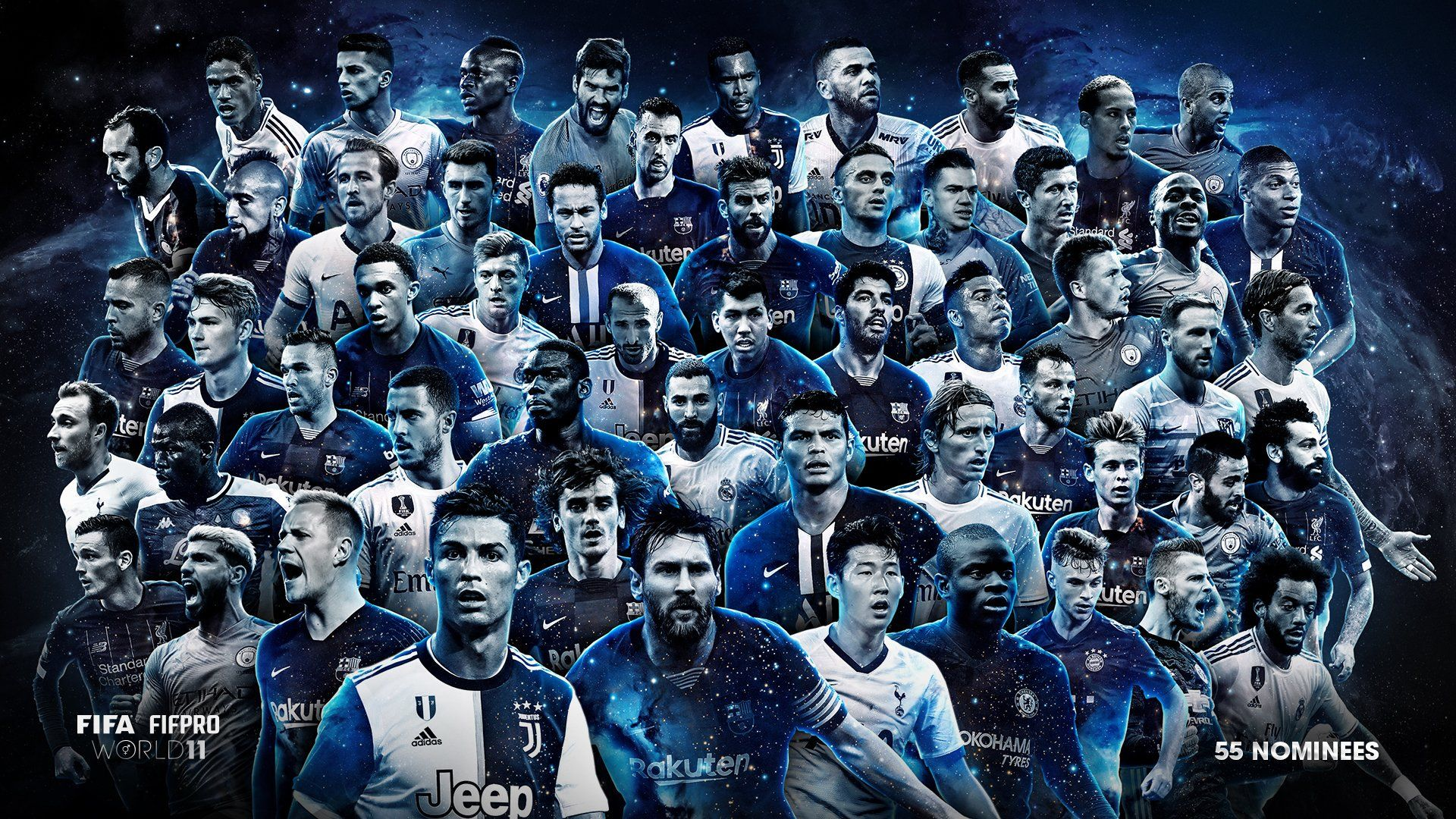 City Players Have Been Nominated In The FIFPro