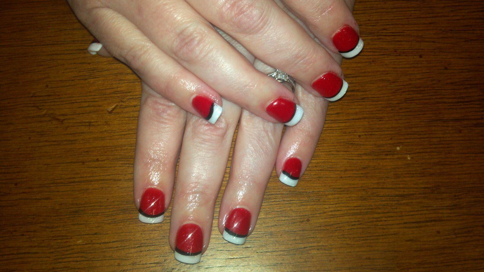 Christmas nails acrylic | Nails by LaShara | Pinterest