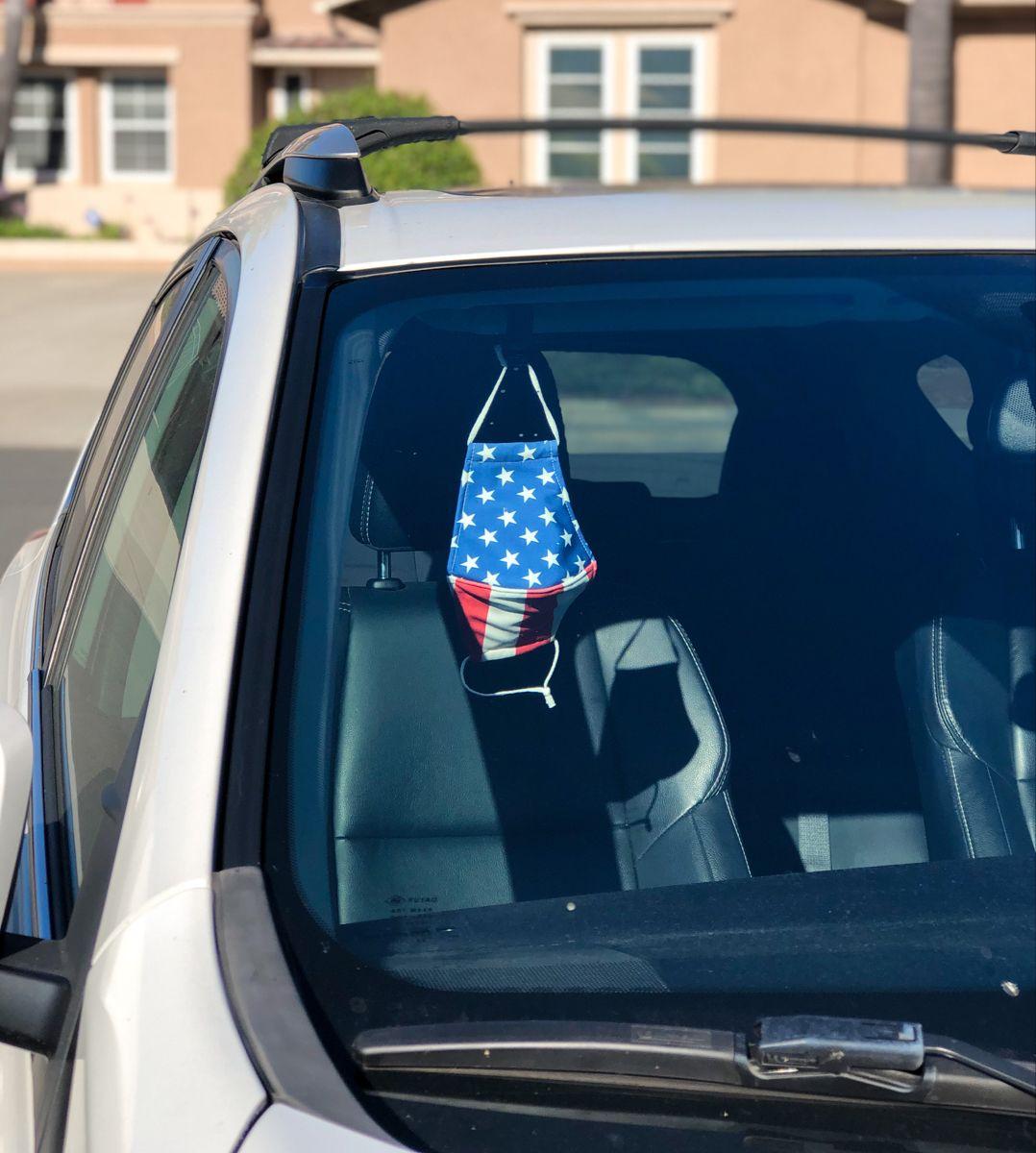 Universal Car Face Mask Holder, Window Visor Mount