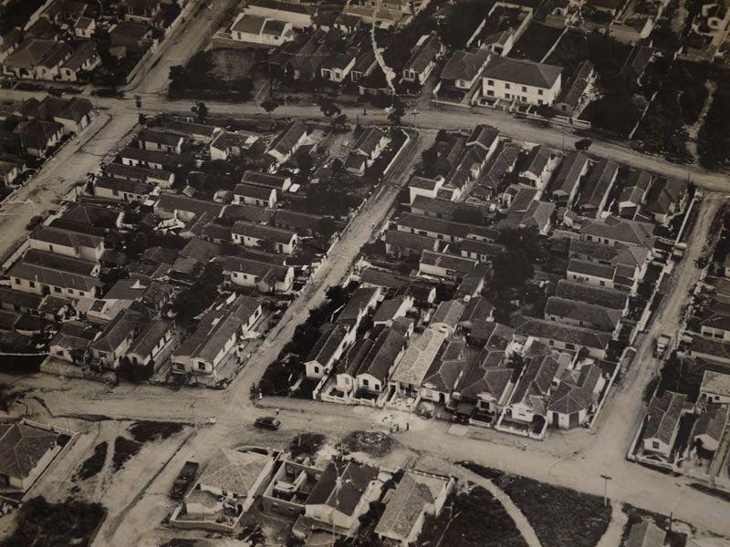 ruas Aspicuelta, Harmonia e Girassol - foto de Antonio Landi (1950)