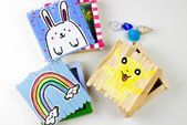 popsicle stick box crafts for Easter St Patricks Day and Pokemon Day Ju  Club Rec
