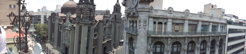 Vista desde el museo del estanquillo.  Centro histórico , México DF.