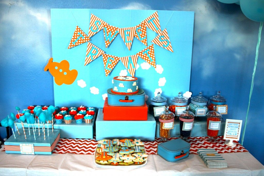 Nurseries and Parties We Love this Week Airplanes Birthdays and