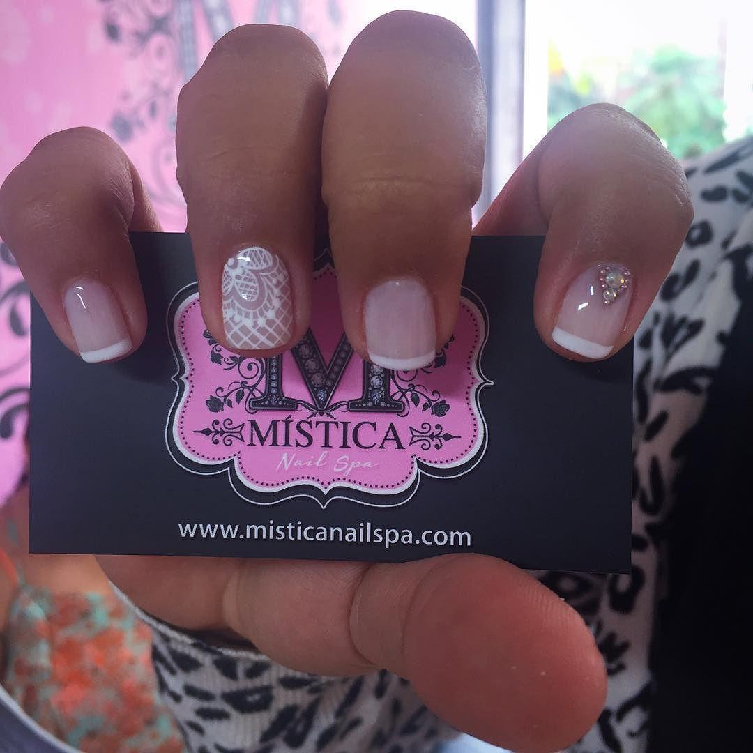 by misticanailspa | köröm minta | Pinterest | Manicure, Pretty nail ...