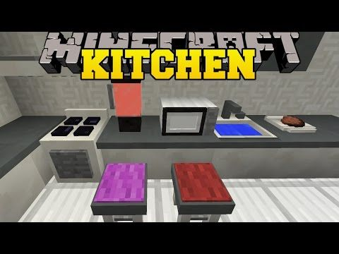 A mod that let\u0027s you have a real kitchen in Minecraft showcased by