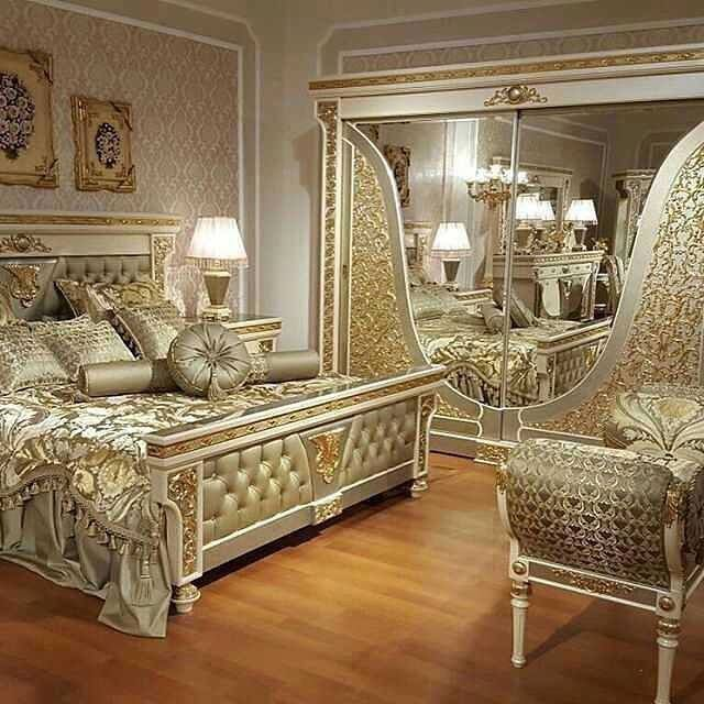 Gold Carving Bedroom Design Hotel Room Design Luxurious Bedrooms Furniture