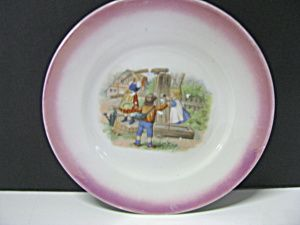 Poole Pottery England Nursery Rhymes Children S China Plate Mug Bowl Egg Cup Ebay Childrens Dishes Pottery China Plates
