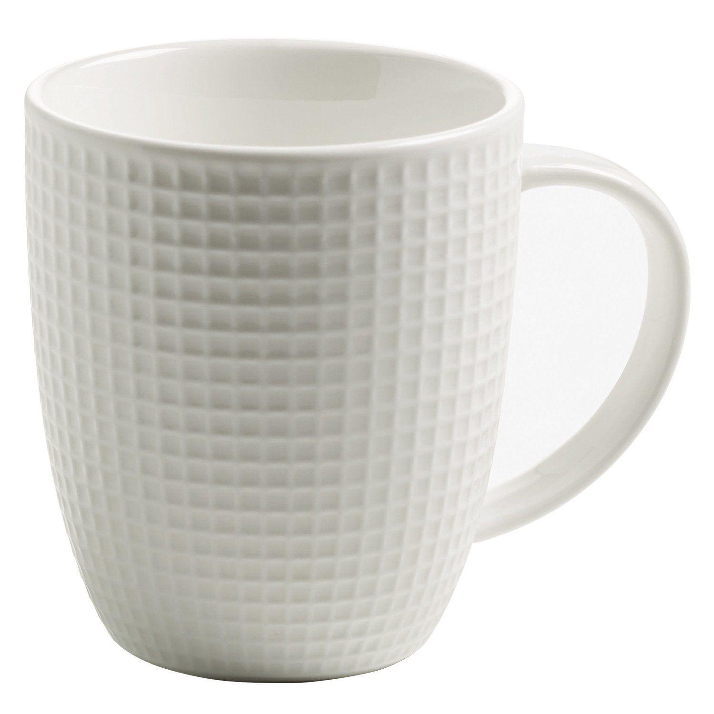 Maxwell Amp Williams Fabuleux Becher Kaffeebecher Kaffeetasse Waffelmuster Porzellan Weiß Jx75422 Amazon De Küche A Kaffeebecher Kaffeetassen Becher