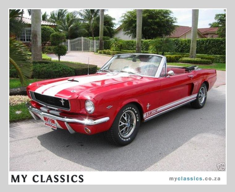 1966 Ford Mustang classic car