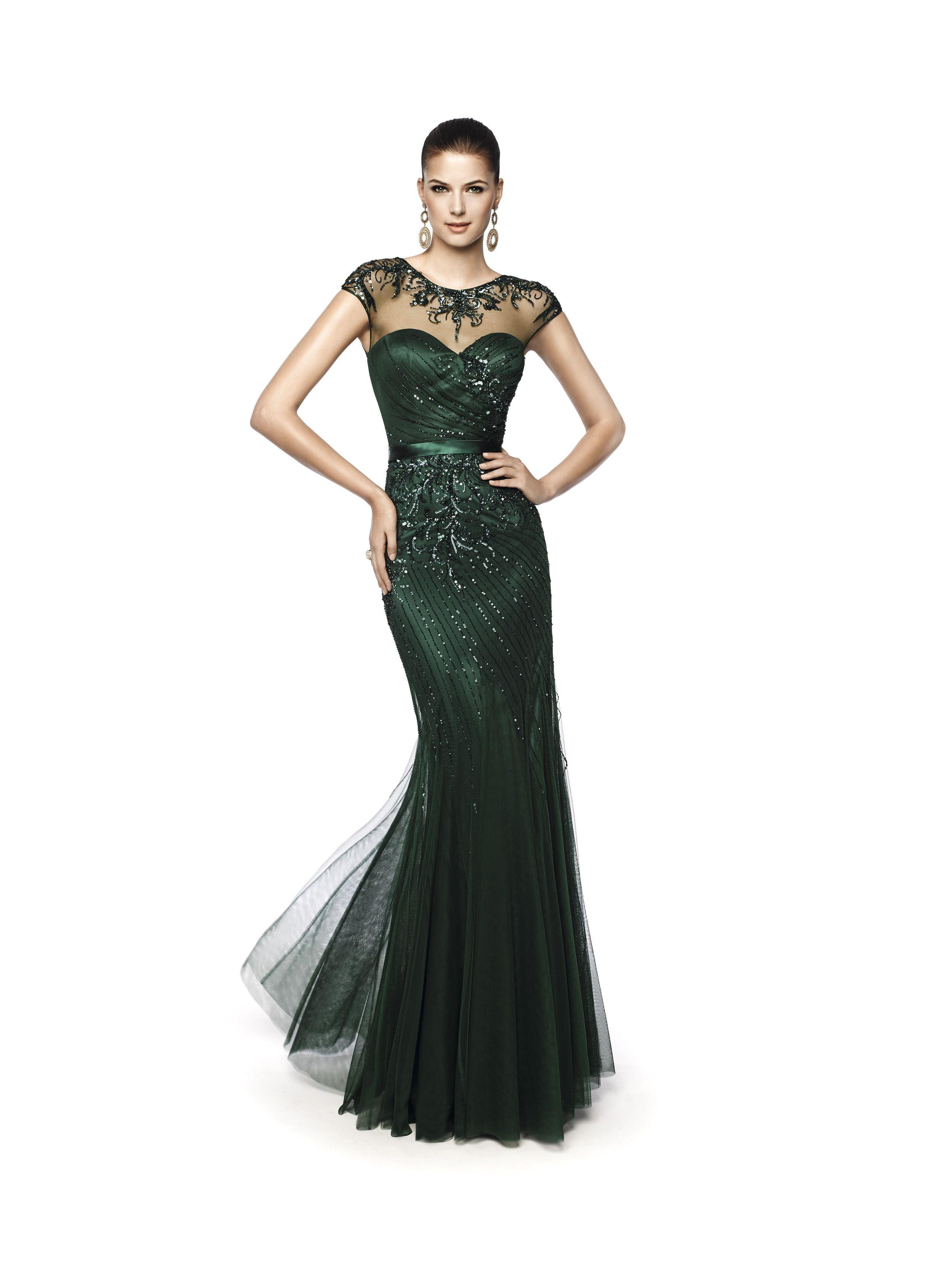 60bc9113 Nagual (Trajes de Fiesta). Diseñador: Pronovias. ... | DRESSES en ...