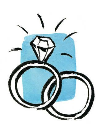 Engagement Ring Drawing 14