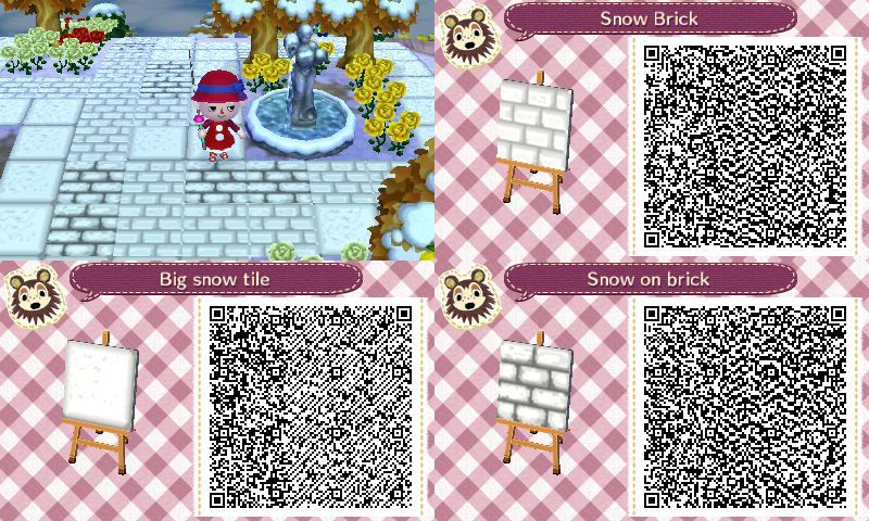 Animal Crossing Qr Codes Paths White Stone Google Search