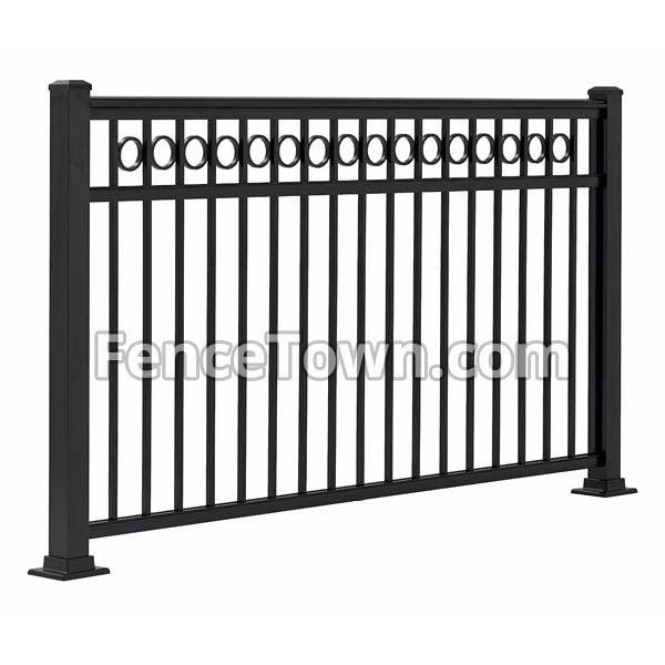 Best Fairfield Plus Aluminum Railing Panel 42H X 48W Aluminum 640 x 480