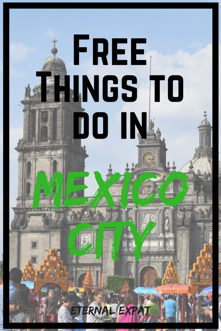 free things to do in mexico city
