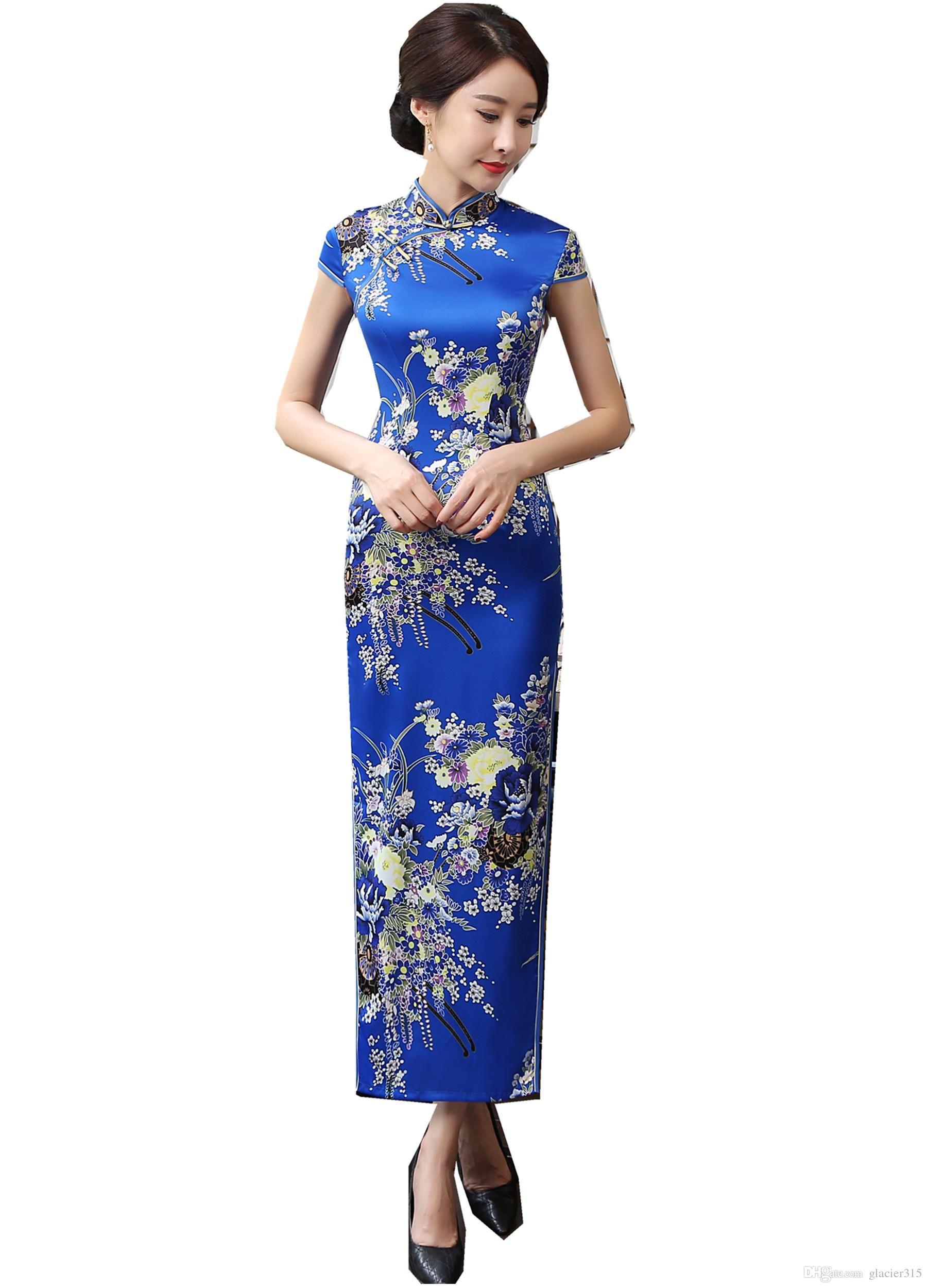 Free Shipping Chinese Style Dress China Qipao Dress Evening Dress Long Wedding Dress Cheongsam Chinese Tr Dresses Chinese Wedding Dress Traditional China Dress [ 2500 x 1800 Pixel ]