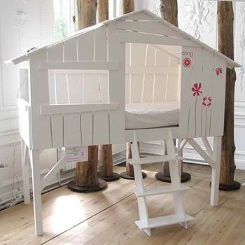 kinderbett baumhütte | kinderzimmer ideen | pinterest