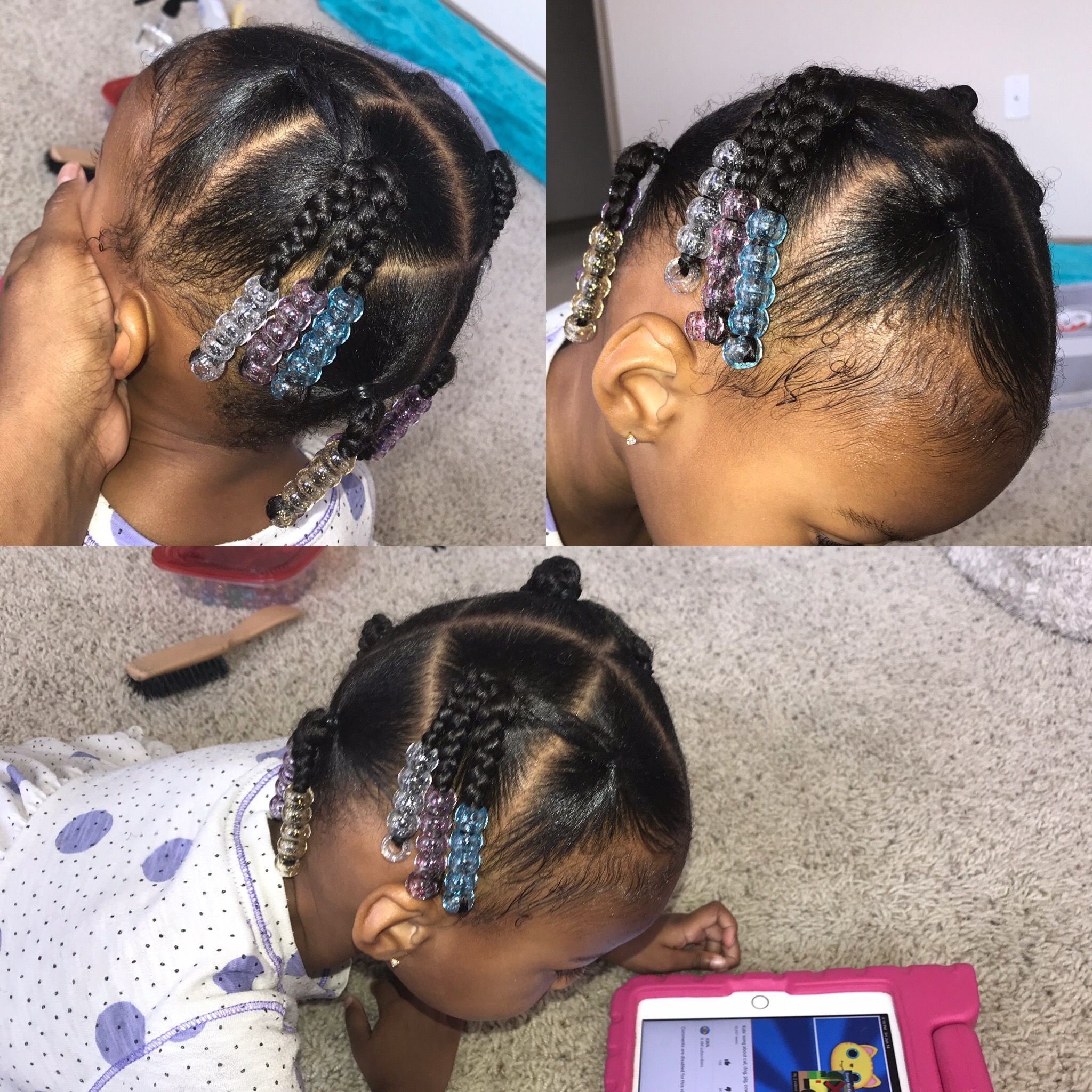 Easy 10 Minute Elastic Hairstyle Cute Hairstyles For Toddlers Cute Toddler Hairstyles Baby Girl Hairstyles Hot Hair Styles
