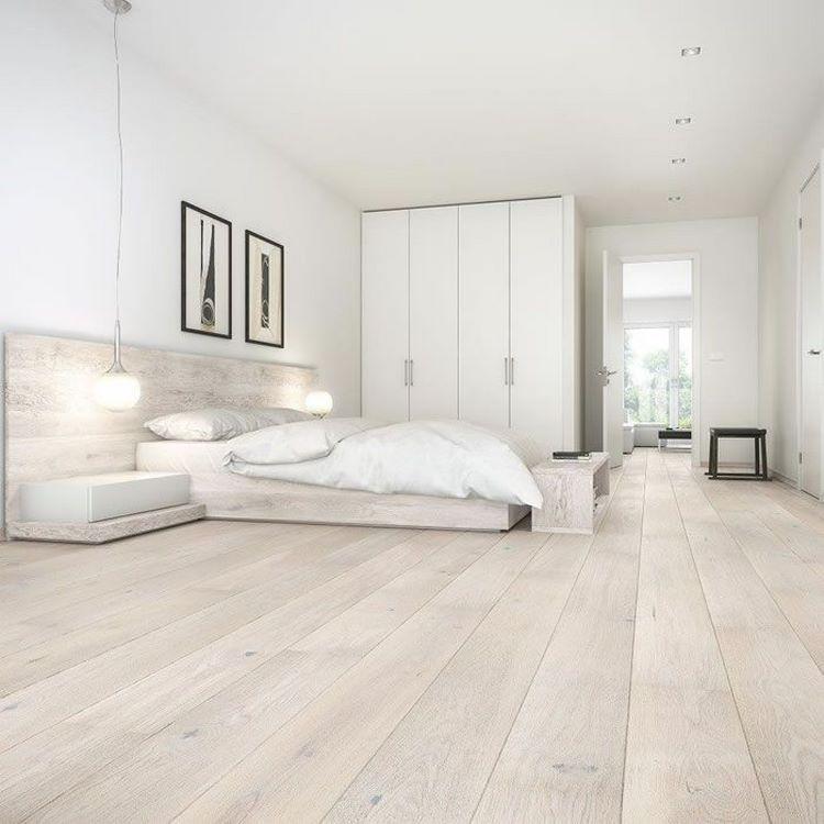Light Hardwood Floors In Interior Design Pros And Cons Modern Bedroom Ideas In 2020 Wood Floors Wide Plank Engineered Wood Floors White Wood Floors