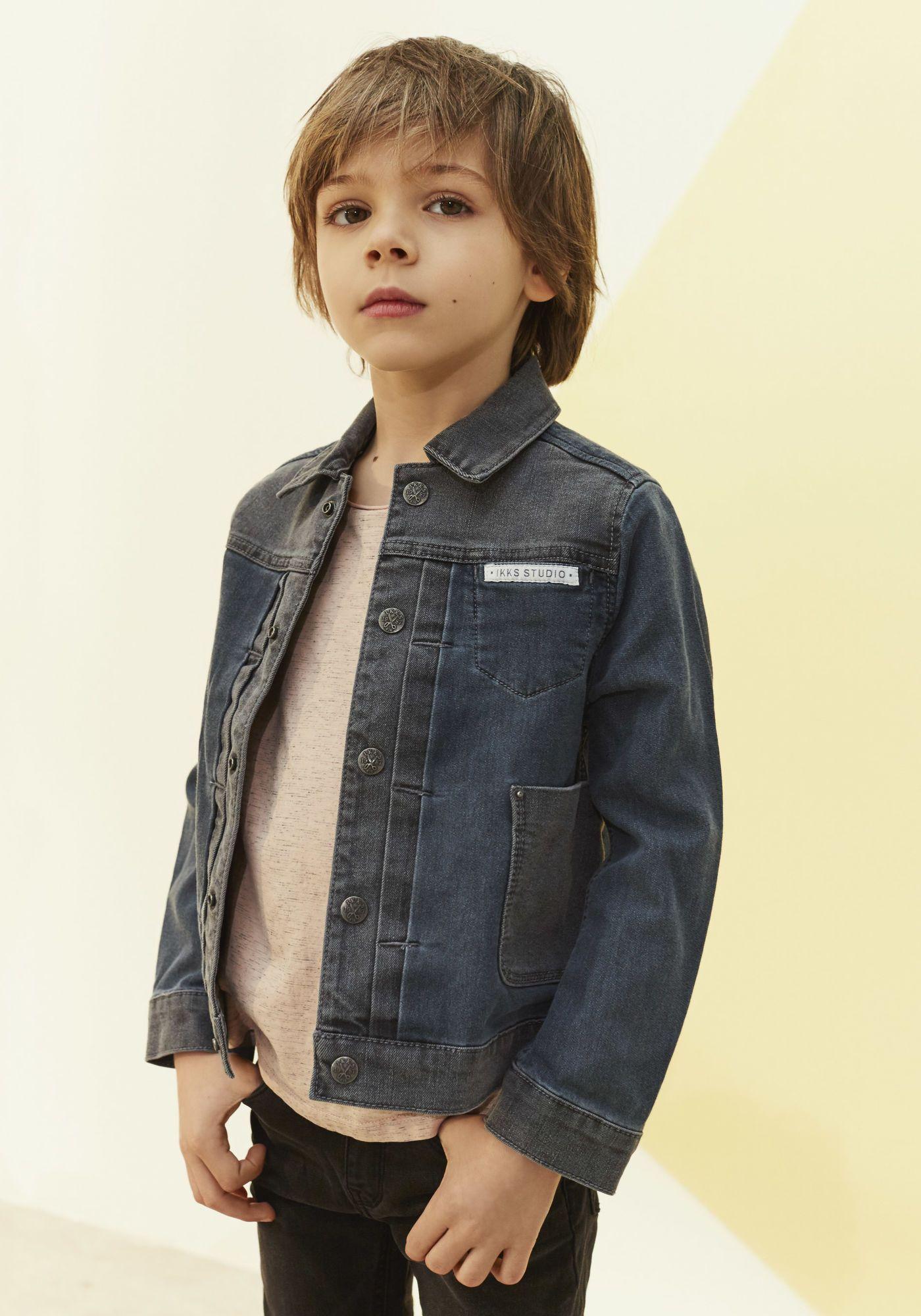 399c1b21f Veste en jean garçon IKKS | Mode Manteau, parka Printemps Eté | Kids ...
