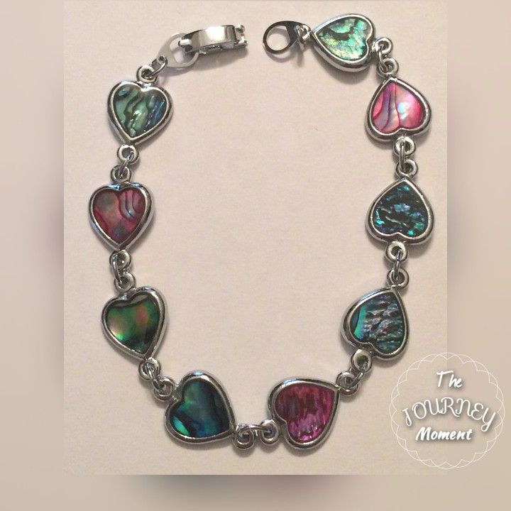 ASB13-NATURAL ABALONE SHELL BRACELET from Jewel Effect, LLC for $12.69
