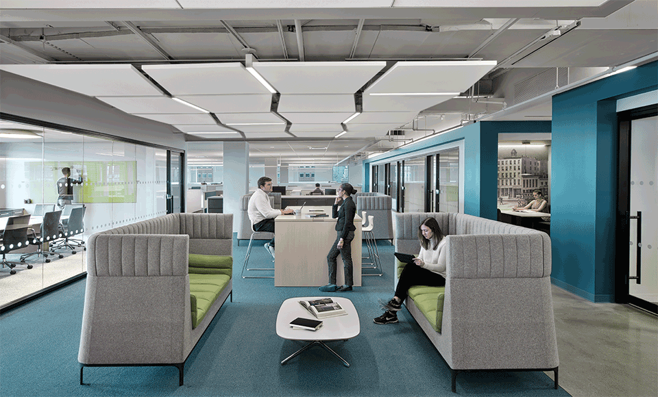 Wiley contract magazine · commercial interiorsceiling