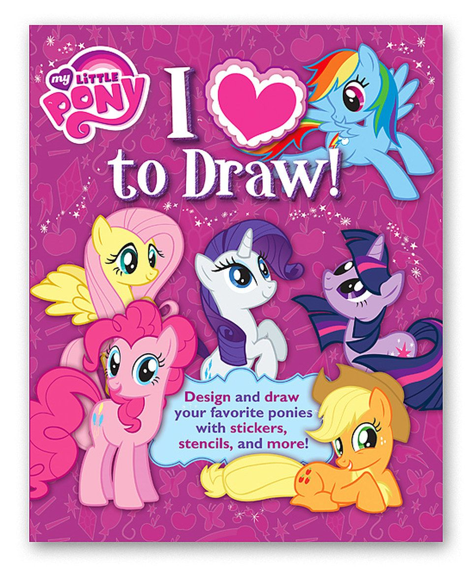 another great find on zulily my little pony i love to draw