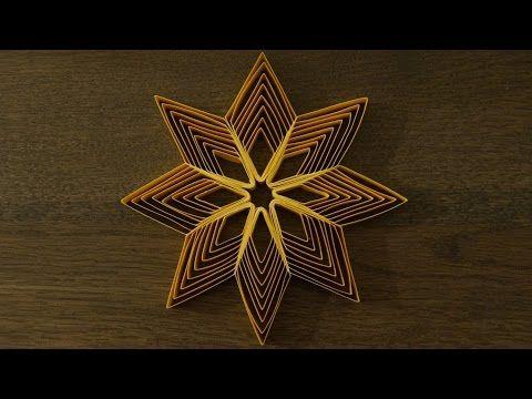 sterne aus papierstreifen zu weihnachten basteln diy youtube quilling pinterest. Black Bedroom Furniture Sets. Home Design Ideas