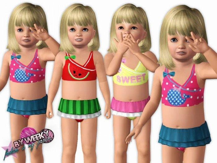 Costumi Da Bagno Per Bambino : Pin di giorgia ferla su costumi bambini pinterest the sims sims